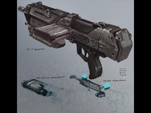 Star Wars Republic Commando Concept Art The
