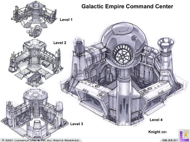 Star Wars Galactic Battlegrounds Concept Art The