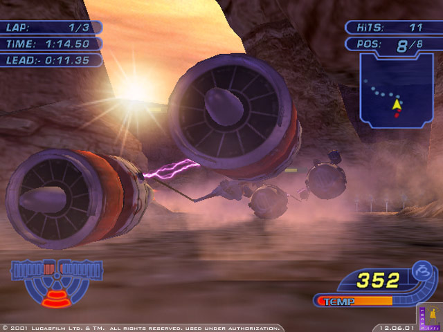 star wars racer revenge iso