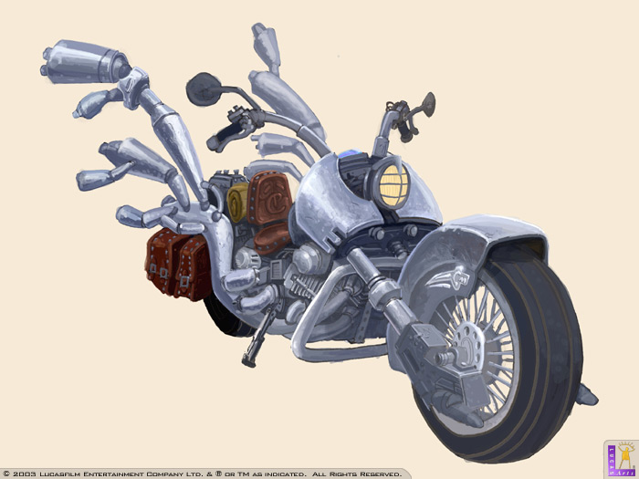 Full Throttle Hell On Wheels Concept Art The