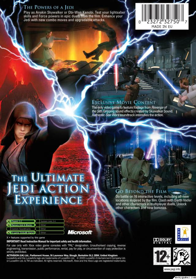 Star Wars Episode Iii Revenge Of The Sith Cover Art The International House Of Mojo