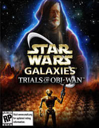 Star Wars Galaxies:Trials of Obi Wan (Cover Art)