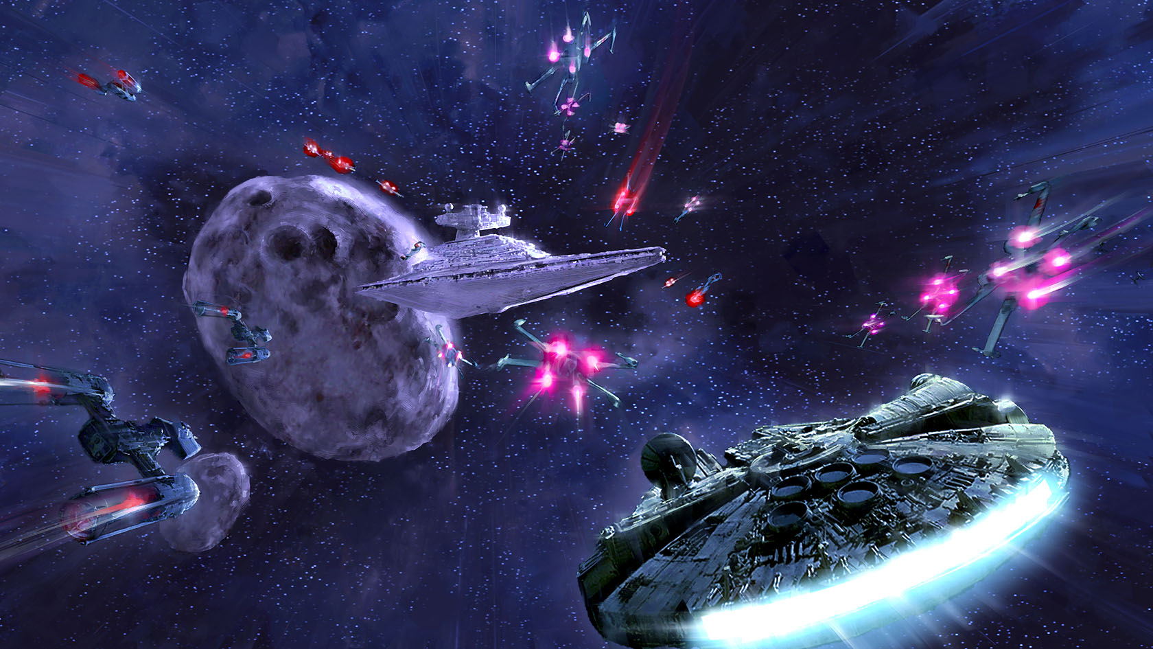 Star Wars Battlefront: Renegade Squadron (Concept Art ...