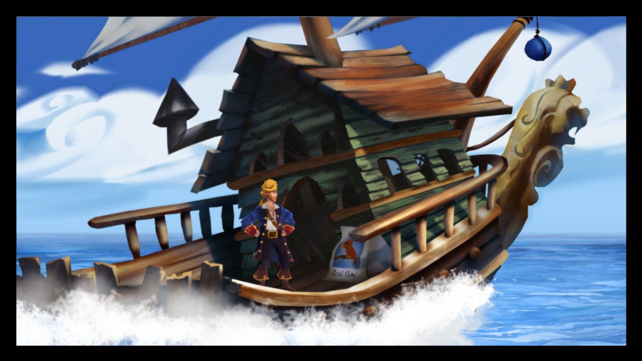 Monkey island 2 lechuck s revenge concept art the international - From The New Mtv Reality Show Pimp My Boat