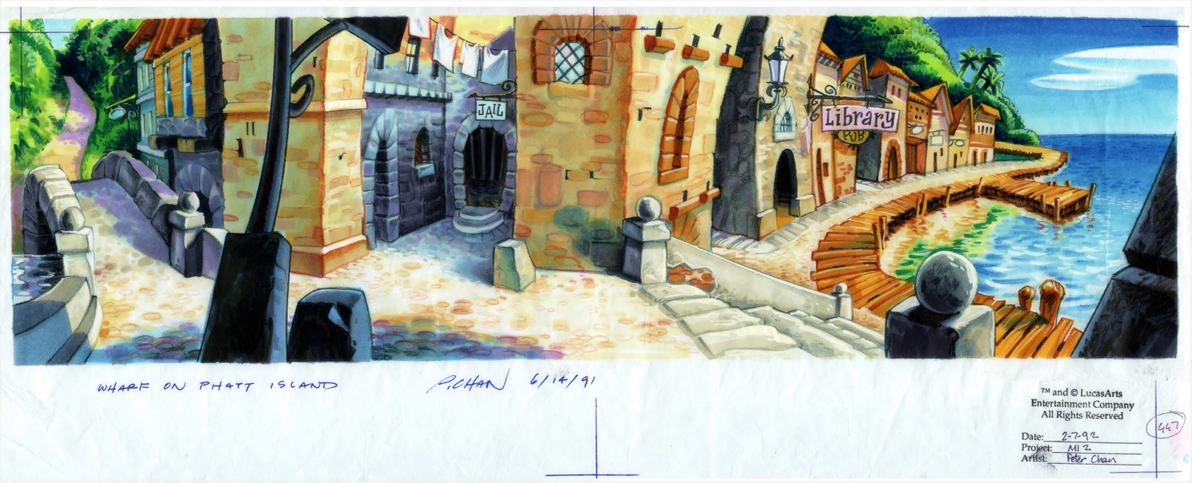 Monkey Island 2 Lechuck S Revenge Concept Art The International