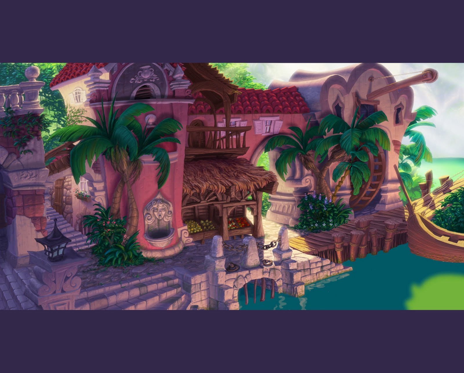 Ghost Pirates of Vooju Island (Concept Art)   The