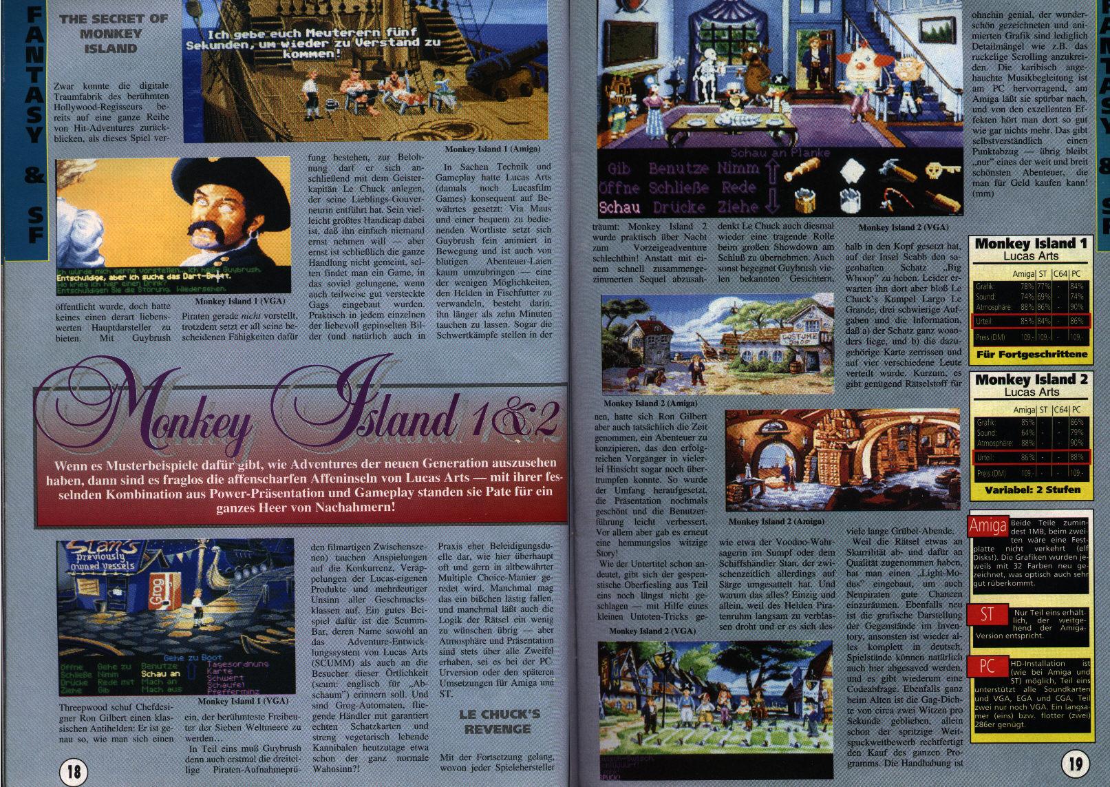 Monkey island 2 lechuck s revenge concept art the international - A Very German Monkey Island 1 2 Review