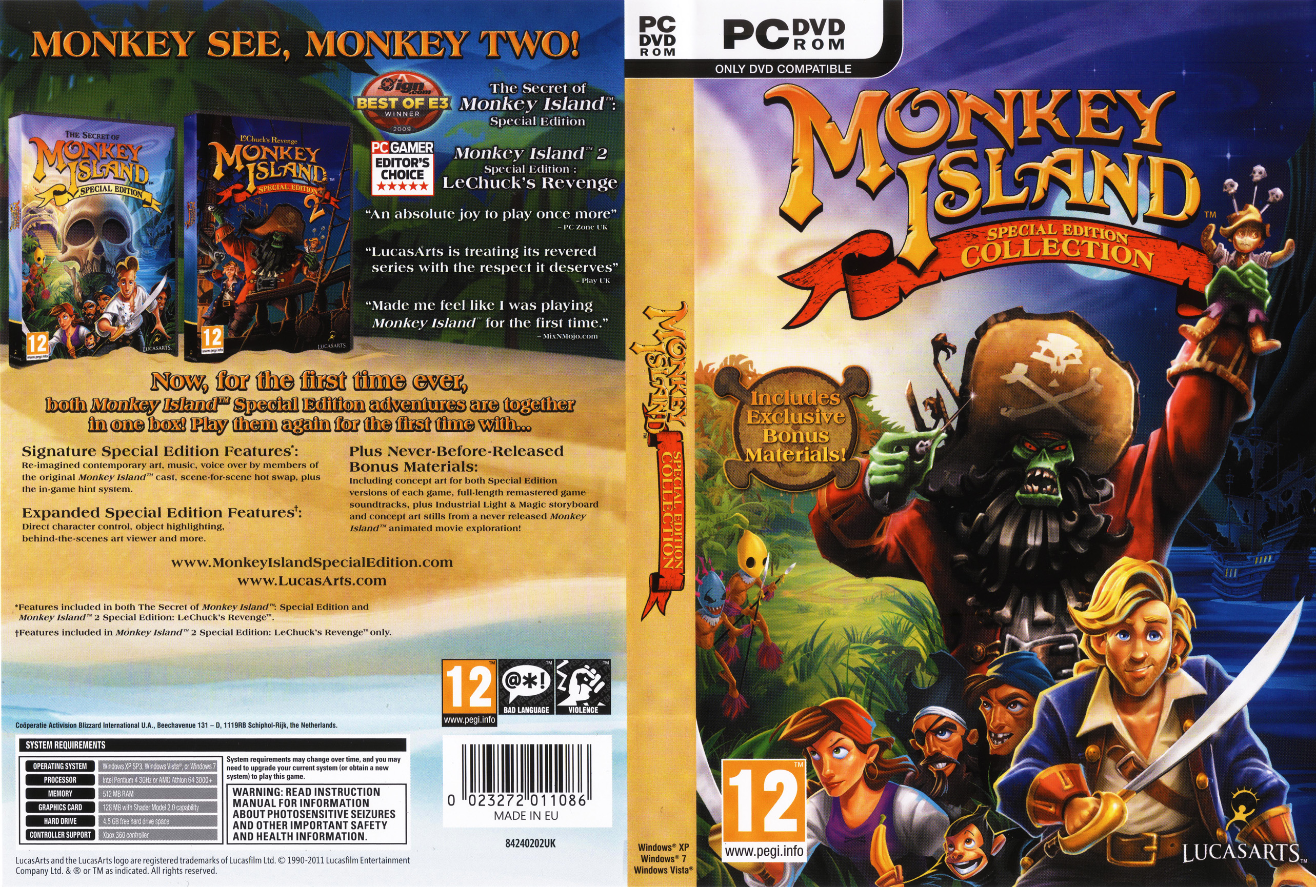 Monkey Island Pc Case