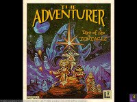Cover of <i>The Adventurer</i> magazine from fall 1992, showing the DOTT characters as the Star Wars characters.