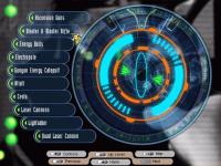Weapons main menu
