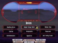 Devices main menu