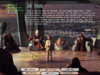 Jedi Temple, introductory page