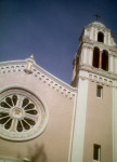 """Petulama church. """"I've never been... I only park my car there,"""" said Bill."""
