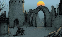 "Concept art by Bill Stoneham. From <a href=""http://pcgtw.retro-net.de/"">PC Games That Weren't</a>"