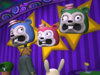 """This is not <a href=""""http://www.mixnmojo.com/php/site/gamedb.php?gameid=10"""">the first time</a> Sam and Max have encountered creepy animatronic singing animal heads."""