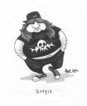 Concept art of Hoagie