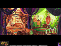 Original background drawing for the International House of Mojo interior, as shown off by LucasArts during their 20th anniversary in 2002.