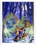 Alternate Monkey Island 2 cover.