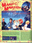 Nintendo Power Issue #16 (September/October 1990) Maniac Mansion Feature 1/6