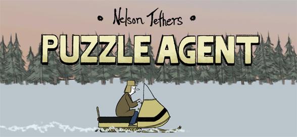 Puzzle Agent review title