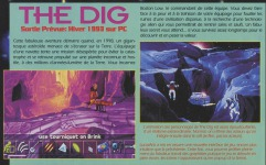 The Dig article from Joystick magazine, 1993 (page 1)