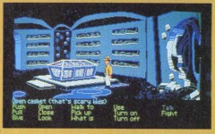 A joke (probably by Ron Gilbert) that was cut from the Last Crusade adventure game