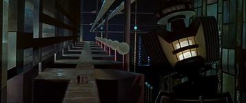 The gargantuan Krell laboratory in Forbidden Planet.