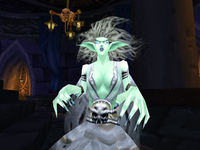 A Banshee in World of Warcraft.