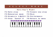 The Beatles playalong album for the Commodore 64.