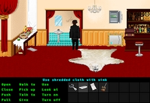 This puzzle is nearly identical to a puzzle in Zak McKracken and the Alien Mindbenders.