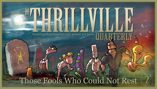The Thrillville Quarterly issue 2
