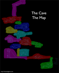 Complete map of The Cave