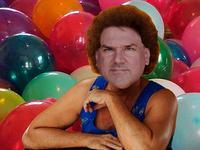 Ronzo, fitness guru.
