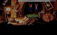 In true LucasArts fashion, you can die in MI2 if you really, really put your mind to it. Hang around in the torture chamber for too long and you'll die a horrible death.