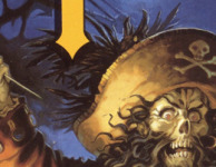 The feathers in LeChuck's hat are more than just feathers - they're part of a whole bird!